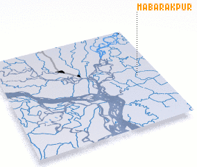 3d view of Mabārakpur