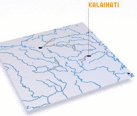 3d view of Kalaihāti