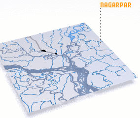 3d view of Nagarpār