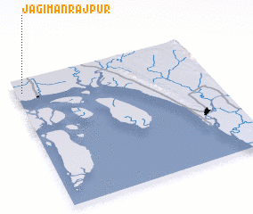 3d view of Jagīmanrājpur