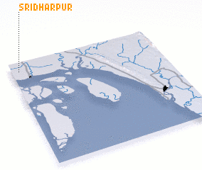 3d view of Srīdharpur