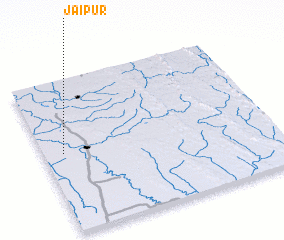 3d view of Jaipur