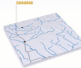 3d view of Sāidābād