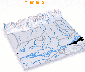 3d view of Tungka La