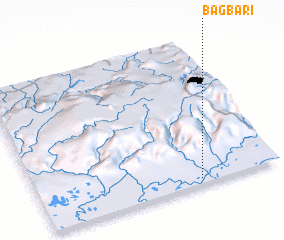 3d view of Bāgbari