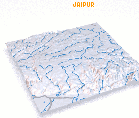 3d view of Jaipur