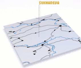 3d view of Sukharëva
