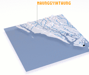 3d view of Maunggyihtaung