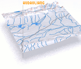 3d view of Wudaoliang