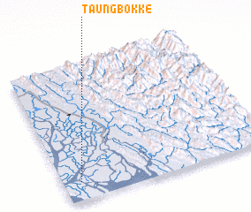 3d view of Taungbokke