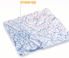 3d view of Myaukywa