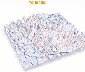 3d view of Taung Kai