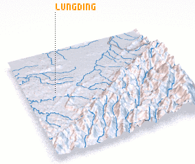 3d view of Lungding