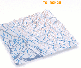 3d view of Taungmaw