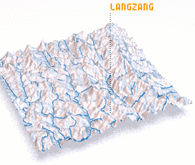 3d view of Langzang