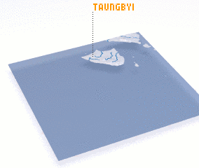 3d view of Taungbyi