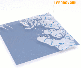 3d view of Lebôngyauk