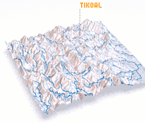 3d view of Tikoal