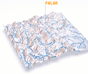 3d view of Falam