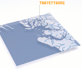 3d view of Thayettaung