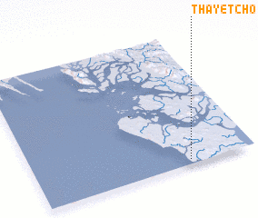 3d view of Thayetcho