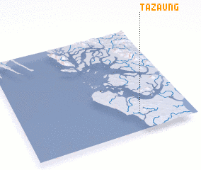 3d view of Tazaung