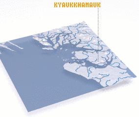 3d view of Kyaukkhamauk