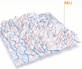3d view of Mali
