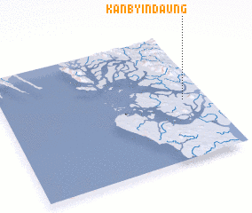 3d view of Kanbyindaung