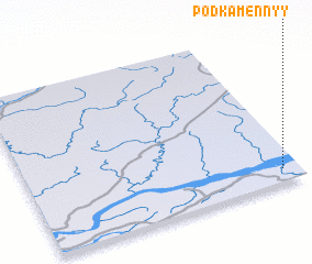3d view of Podkamennyy