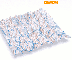 3d view of Khaukue