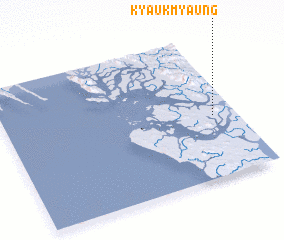 3d view of Kyaukmyaung