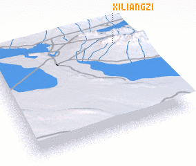 3d view of Xiliangzi