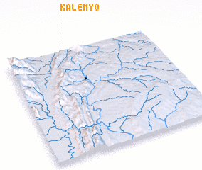 3d view of Kalemyo