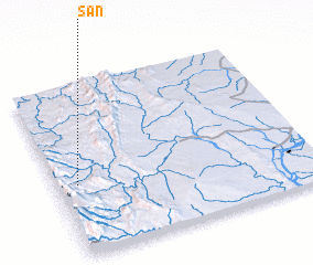 3d view of San