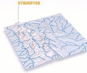 3d view of Kyaukpyok