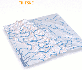 3d view of Thitswe