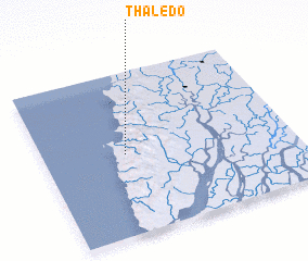 3d view of Thaledo