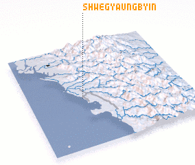 3d view of Shwegyaungbyin