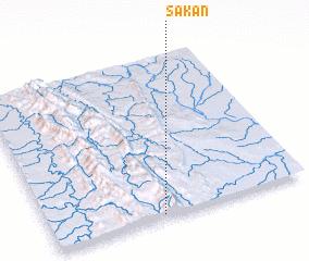 3d view of Sakan
