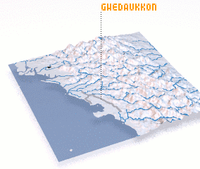 3d view of Gwedaukkôn