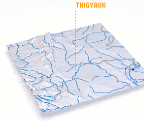 3d view of Thigyauk