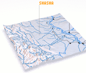 3d view of Shasha