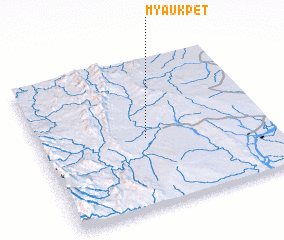 3d view of Myaukpet