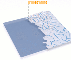 3d view of Kywegyaing