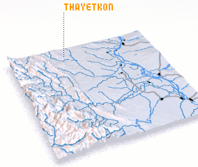 3d view of Thayetkôn