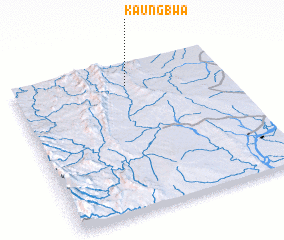 3d view of Kaungbwa