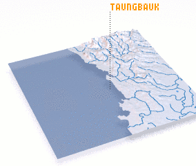 3d view of Taungbauk