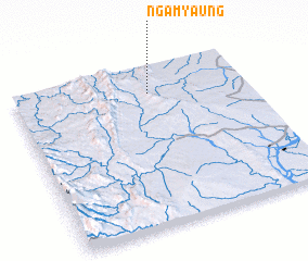 3d view of Ngamyaung