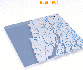 3d view of Kyaukpya